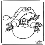 Christmas coloring pages - Christmas 27