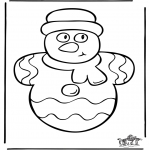 Christmas coloring pages - Christmas 34