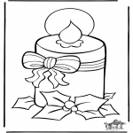 Christmas coloring pages - Christmas 36