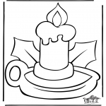 Christmas coloring pages - Christmas 37