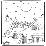 Christmas coloring pages - Christmas 38