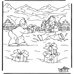 Christmas coloring pages - Christmas 39