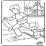 Christmas coloring pages - Christmas 4