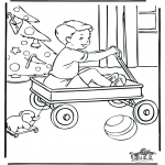 Christmas coloring pages - Christmas 5