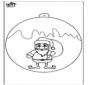 Christmas ball with Santa Claus 1