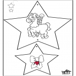 Christmas coloring pages - Christmas decorations 3