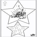 Christmas coloring pages - Christmas Decorations - Bible 3