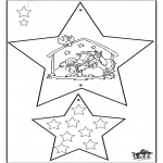 Christmas coloring pages - Christmas Decorations - Bible 4