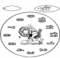 Clock bird