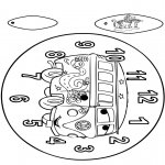 Crafts - Clock Cars