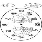 Crafts - Clock Kangaroo