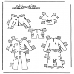 Crafts - Cloth paper doll 1