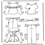 Crafts - Cloth paper doll 2
