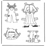 Crafts - Cloth paper doll 3