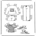 Crafts - Cloth paper doll 5