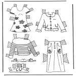 Crafts - Cloth paper doll 6