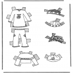 Crafts - Cloth paper doll 7