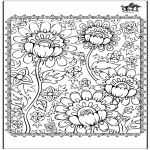 All sorts of - Coloring for adults 3