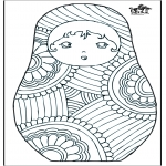 All sorts of - Coloring for adults 4
