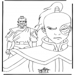 Comic Characters - Coloring page Avatar