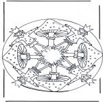Mandala Coloring Pages - Coloring page Mandala