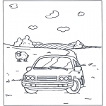 All sorts of - Coloring pages car