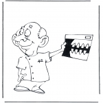 All sorts of - Coloring pages dentists