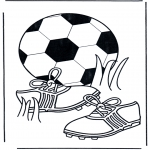 All sorts of - Coloring pages Football