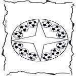 Mandala Coloring Pages - Coloring pages mandala football