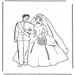 Theme coloring pages - Coloring pages marriage