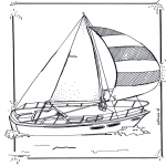 All sorts of - Coloring pages sailingboat