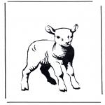 All sorts of - Coloring sheet lamb