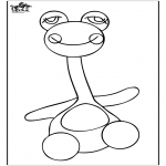 Kids coloring pages - Coloringpage toys 3