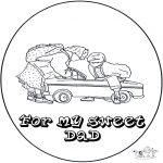 Theme coloring pages - Colring sheets dads day