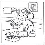 Kids coloring pages - Crafts