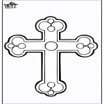 Bible coloring pages - Cross