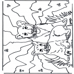 Animals coloring pages - Cubs