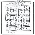 Crafts - Dalmatian labyrinth