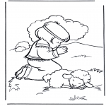 Bible coloring pages - David 2