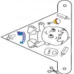 Crafts - Decoration flag Primavita