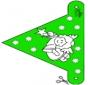 Decorationflag X-mas 8