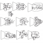 Crafts - Diorama craft Pokemon