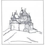Comic Characters - Disney castle