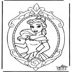 Comic Characters - Disney Princess Belle 1