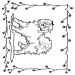 Animals coloring pages - Dog 2