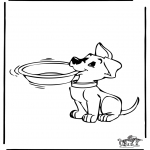 Animals coloring pages - Dog