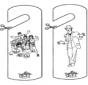 Door hanger - High school musical