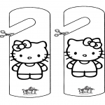 Crafts - Doormark Kitty