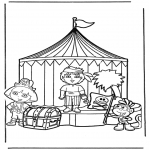 Kids coloring pages - Dora the Explorer 13
