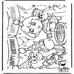 Kids coloring pages - Dora the Explorer 25